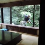 原瀧からの眺めを楽しんでもらう為のお仕事(`・ω・´)