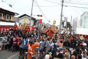冬のお祭り!1/11は大俵引き!