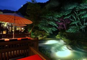 8月1日(金)東山温泉光の街プロジェクト点灯式!