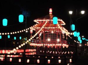 ★東山盆踊り70周年記念イベント 会津若松市東山温泉 光の街プロジェクト★