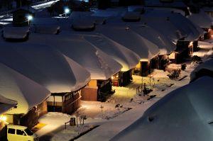☆冬のイベント☆必見♪ ロマンティックな雪景色♪大内宿ナイトツアー(予約制)