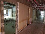 4階客室改装工事中