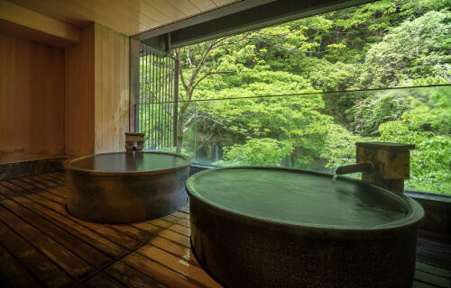 private panoramic bath