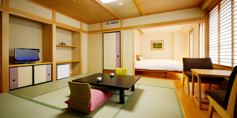 Japanese/Western Style Rooms